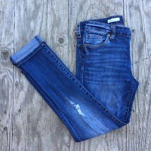 Distressed Boyfriend Jeans | Kut from the Kloth